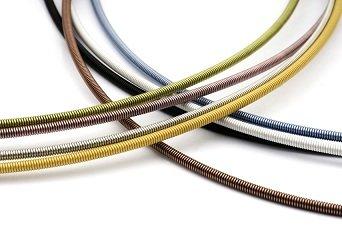 Heideman Halskette Damen Linea 1 aus Edelstahl Gold farbend grün Kette für Frauen mit Doppeclip Verschluss Collier für Charms und Schmuck Anhänger Länge 42cm