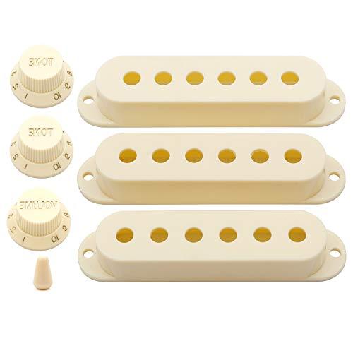 Unxuey juego de perillas de repuesto para guitarra eléctrica Fender Stratocaster Strat...