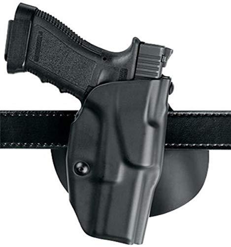Safariland 6378 ALS, Paddle & Belt Slide Holster, Sig Sauer P220, P226, Plain Black, Left Hand