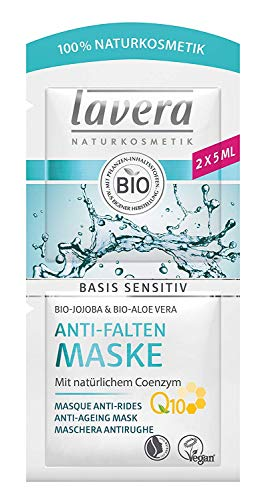 Lavera Basis sensitiv Maske Anti-Falten Q10 3er Vorteilspack (3 x 10ml)