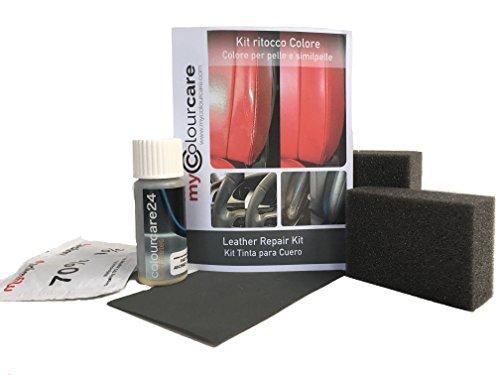 Kit de rénovation pour Volant en Cuir Noir de retouche Boxsterrot Porsche Boxster Peinture Rouge
