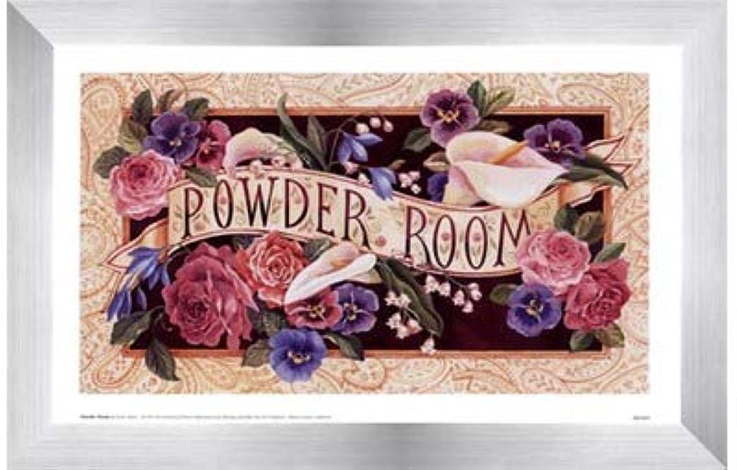 バッグ省略する霊Powder Room by Karen Avery?–?11?x 7インチ?–?アートプリントポスター LE_47468-F9935-11x7