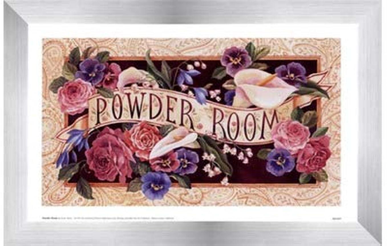 演劇動機付ける伝導率Powder Room by Karen Avery?–?11?x 7インチ?–?アートプリントポスター LE_47468-F9935-11x7