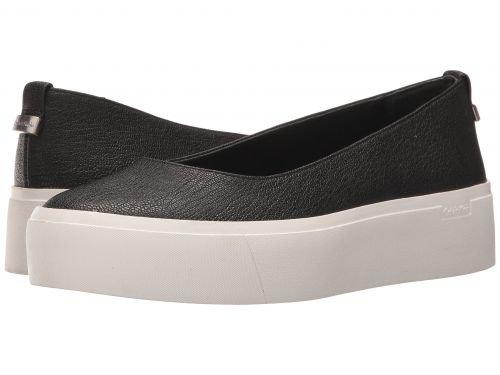 Calvin Klein(カルバンクライン) レディース 女性用 シューズ 靴 スニーカー 運動靴 Janie – Black Stretch Pebble 7 M [並行輸入品]