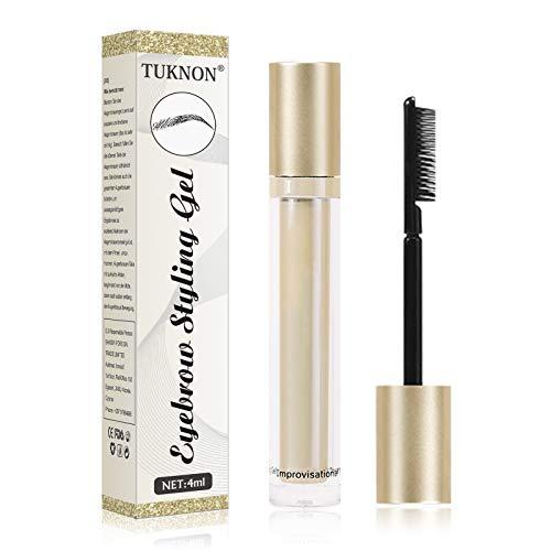 Gel Fijador De Cejas,Eyebrow Gel,Clear Eyebrow Gel,El Gel Fijador De Cejas Waterproof,Larga Duración Para Maquillaje Natural de Cejas 4ml
