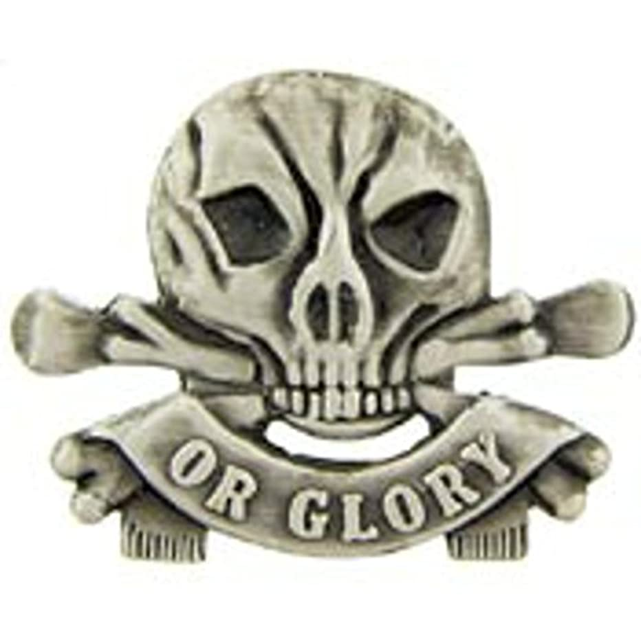 EagleEmblems P15093 Pin-Death OR Glory (1'')