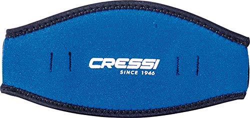 Cressi Maskenband Neoprenuberzug, blau, one size, DS339992