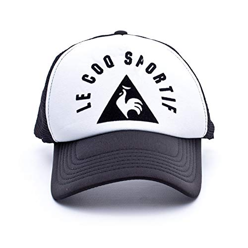 Le Coq Sportif Retro Trucker, Gorra, Black: Amazon.es: Deportes y ...