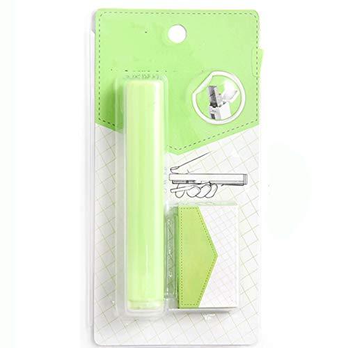ZJY Penna Studente Studente Studente Piccola Dimensione Portatile Plapler Multifunzione Blu/Verde/Giallo 1 pz (Color : Green)