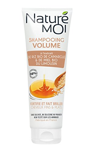 pas cher un bon Naturé Moi – Shampooing volume à l'extrait de riz bio de Camargue et au miel bio du Limousin – Pour…