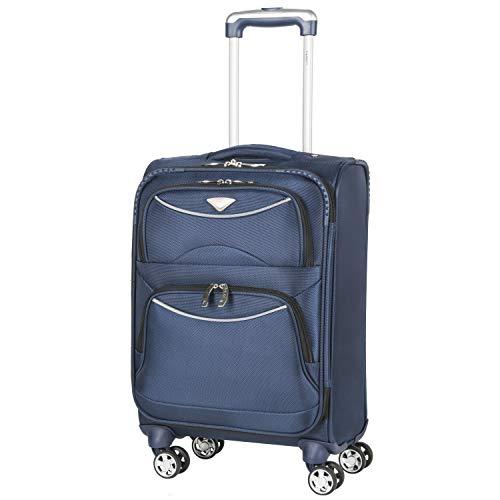 Flight Knight Lichtgewicht 8 wiel 1680D zachte koffers Maximale grootte voor Virgin Atlantic, Delta Airlines handbagage handbagage 8 Wielen
