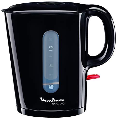 Moulinex Principio - Hervidor de agua (capacidad de 1.7 l, filtro anti-impurezas,...