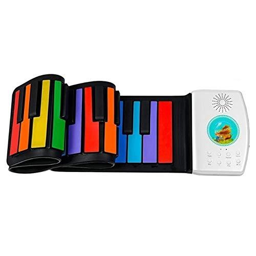 Best Price SDCM 49 Keys Digital Keyboard Flexible Roll Up Piano Gift with Loud Speaker Electronic Ha...