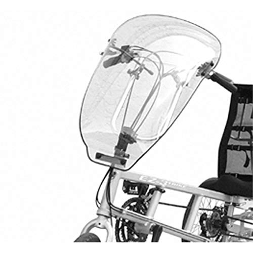 Sun Seeker Wind Fairing for Sun EZ Recumbent Bicycles (Windshield Only)
