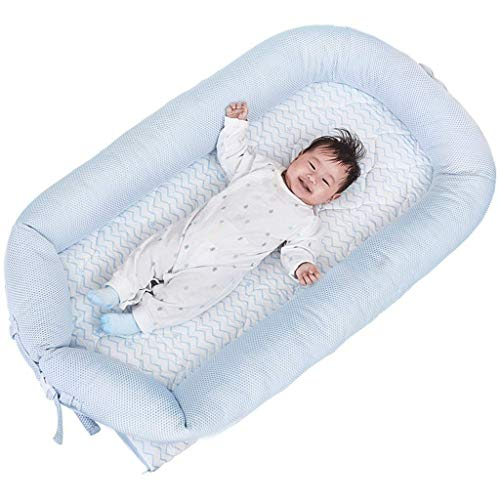 New YRR Deluxe+ Dock (Pristine White) - The All in One Baby Lounger - Perfect for Co Sleeping - Suit...