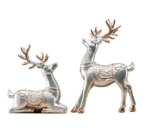 GH-YS Adornos Escultura, Resina/Fuerte Dureza/Robusto/Duradero/Resistente a Altas Temperaturas/Dormitorio/Escritorio/Vinoteca Decorat