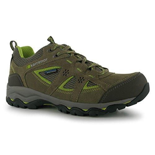 Karrimor Chaussures de marche basses pour femme - - Taupe/Green, 6.5 UK