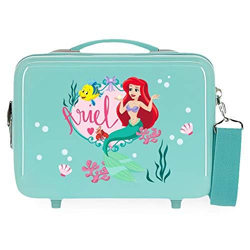 Disney Always Be Kind Valigia da cabina blu 38 x 55 x 20 cm rigida ABS...