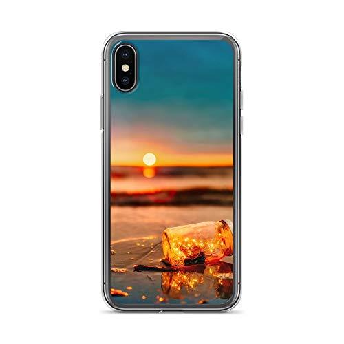 blitzversand Handyhülle KRAKE TENTAKEL kompatibel für Huawei P SMART Flaschenpost Schutz Hülle Case Bumper transparent rund um Schutz Cartoon M10