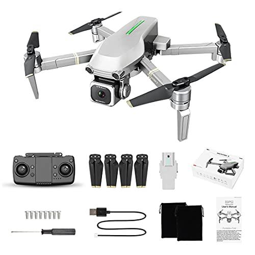 Hedi LYZRC L109-S - Drone RC con fotocamera 4K, 2 assi, GPS 5G WiFi 800M FPV senza spazzole Quadcopter, tempo di volo 25 minuti