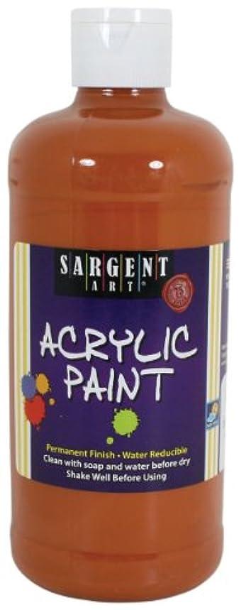 Sargent Art 24-2406 16-Ounce Acrylic Paint, Goldenrod