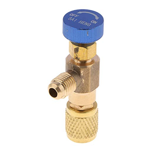 Generic Air Conditioner Fill Fitting Air Conditioner Liquid Fill Valve -...