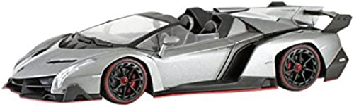 Kyosho original 1 43 Lamborghini Veneno Roadster Grau   rot Line