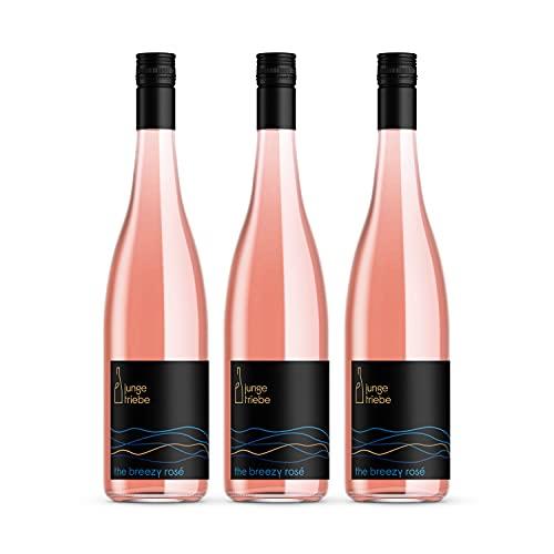 junge triebe | the breezy rosé | Rosé trocken, Rheinhessen, Gutswein, vegan | 3x 0.75l