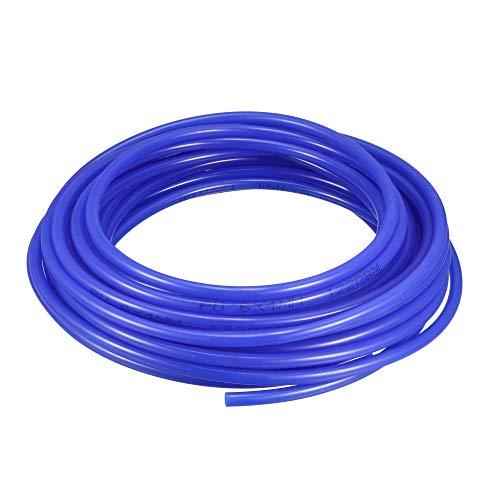 sourcingmap 10M 32.8Ft Tubo Pneumatico Aria in Poliuretano PU Tubi per Compressori d'aria Blu