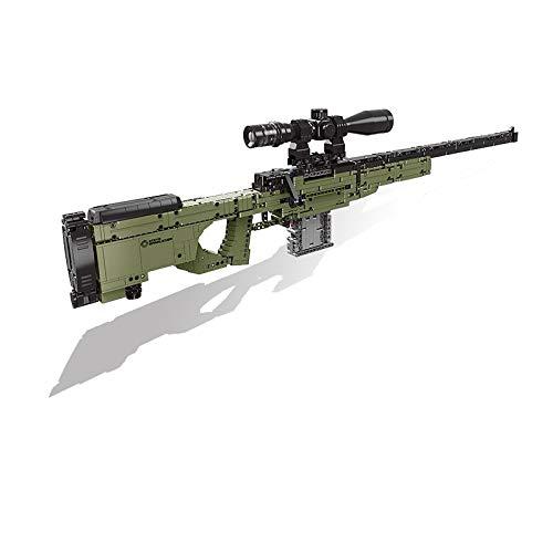 DSHHF Gatling Guns Emission Fit City Technic Guns Feuerkugel Swat Militärwaffe Modellbausatz Bausteine Ziegel Spielzeug Für Kinder