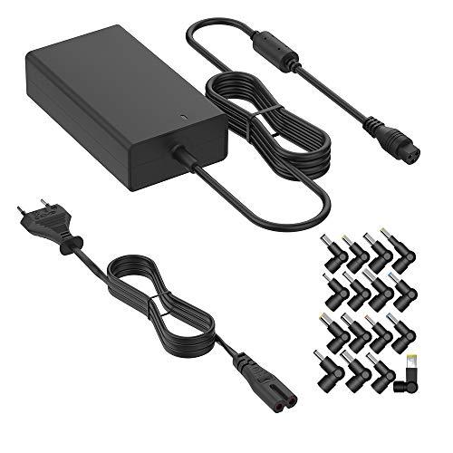 BERLS Ordenador Portátiles Adaptador Cargador de Universal, Fuente de alimentación 15V 16V...
