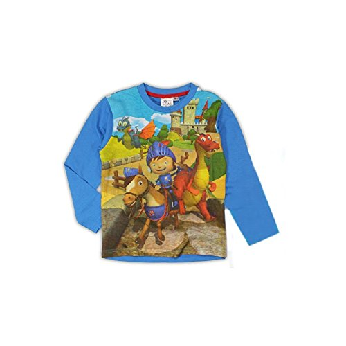 Mike the Knight Boys Blue Top T-Shirt Alter 4-5 Jahre