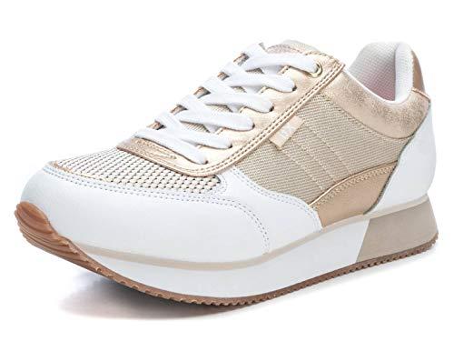 XTI 49760.0, Zapatillas Mujer, Dorado (Oro Oro), 38 EU