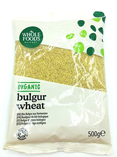 Whole Foods Market - Bulgur aus Hartweizen, vorgegart, aus biologischer Landwirtschaft, 500g