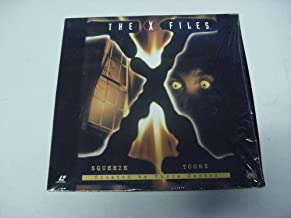 Laserdisc The X Files with 2 Uncut Episodes Squeeze, Tooms. By Chris Carter. David Duchovny & Gillian Anderson.