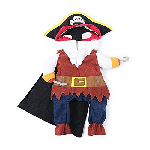 WINOMO Halloween disfraz Gato Perro Ropa Disfraz Vestido pirata...