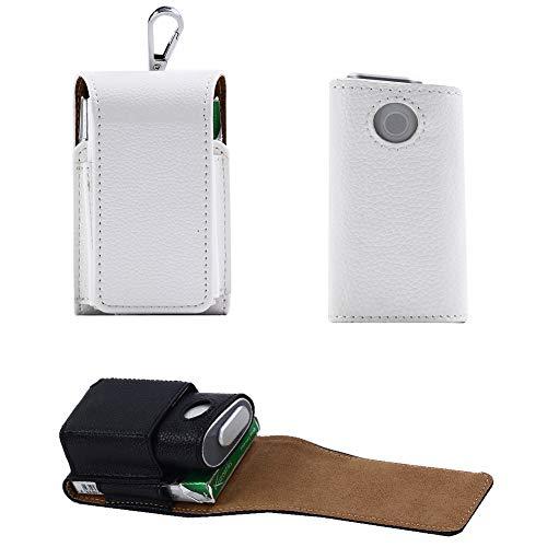 EFGS GLO Electrónico Cigarrillo Funda, Portátil Hangable Cuero Protección Estuche,8