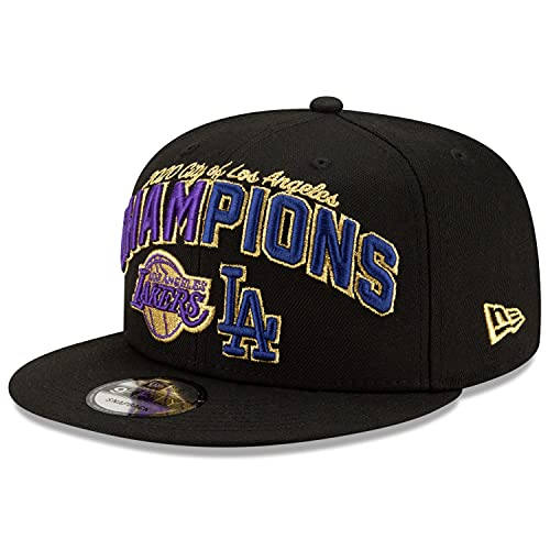 New Era 9Fifty Champs 2020 LA Lakers & Dodgers - Gorra