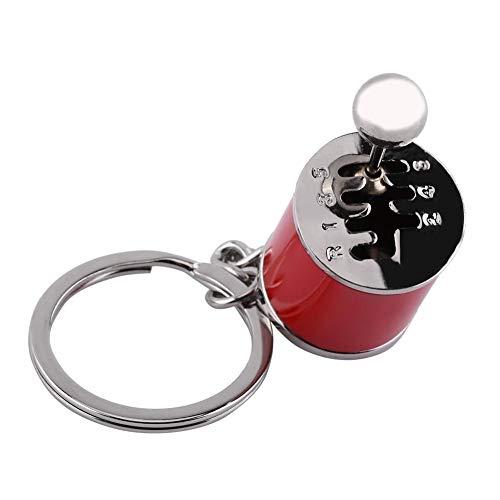 【𝐖𝐞𝐢𝐡𝐧𝐚𝐜𝐡𝐭𝐬𝐠𝐞𝐬𝐜𝐡𝐞𝐧𝐤】6-Gang-Schaltgetriebe Schlüsselanhänger Gadgets, Gangschaltungs-Schlüsselanhänger, Auto-Teil-Modell, Schlüsselanhänger für Taschen/Handys für Ihre Autoschlüssel (