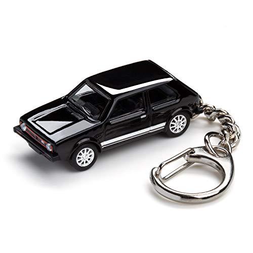 corpus delicti :: Schlüsselanhänger mit Golf I GTI schwarz Modellauto für alle Auto- und Oldtimerfans (20.9-42)