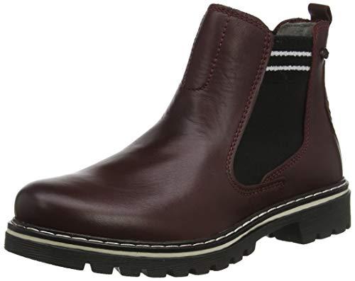 camel active Canberra 80, Damen Chelsea Boots, Rot (Oxblood 2), 44.5 EU (10 UK)