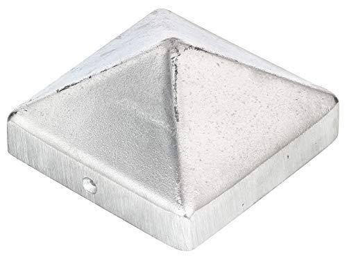 GAH-Alberts 217235 Copripalo per Pali in Legno, Alluminio, 90 x 90 mm