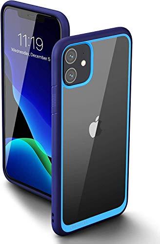 SupCase Funda iPhone 11 2019 Ultrafina Transparente Case [Unicorn Beetle Style] Anti-Arañazos Carcasa para Apple iPhone 11 6.1 Pulgadas (Azul)