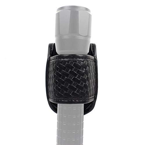 ROCOTACTICAL Taschenlampenhalter, Taschenlampe, oben offen, kompakt, für Standard-D-Cell Taschenlampen