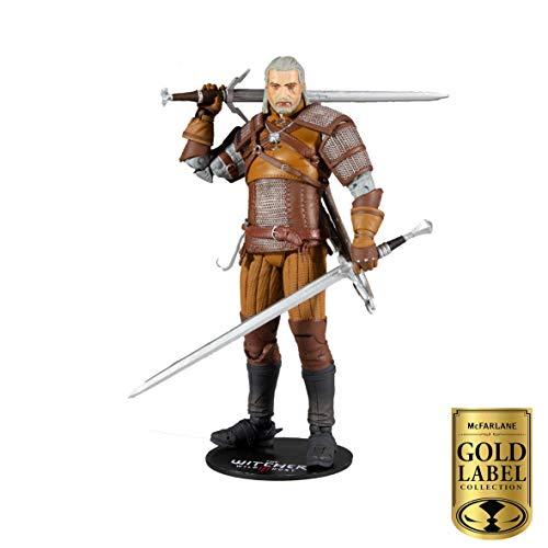 Witcher Geralt of Rivia 7u0022 Figure - Gold Label Series