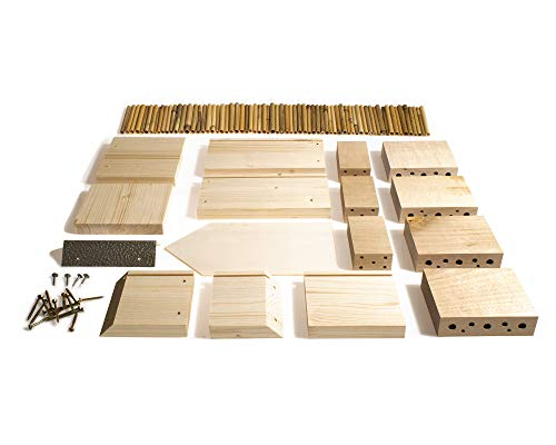 Insektenhotel-Bausatz aus zertifiziertem Holz - 3