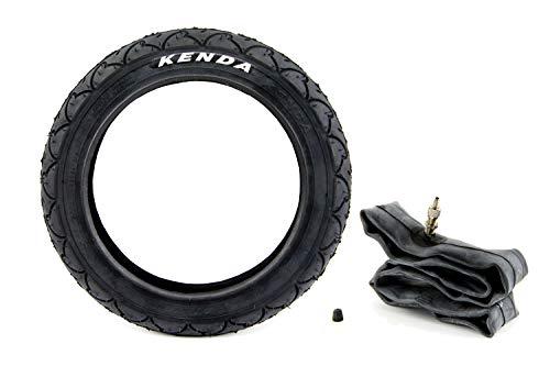 Set Kenda Kinderwagen Reifen 1,75 x 12,5 Zoll, 47-203, K-935, Kinder Roller Laufrad Kinderfahrrad Fahrrad-Anhänger + Schlauch 12 Zoll Fahrradventil