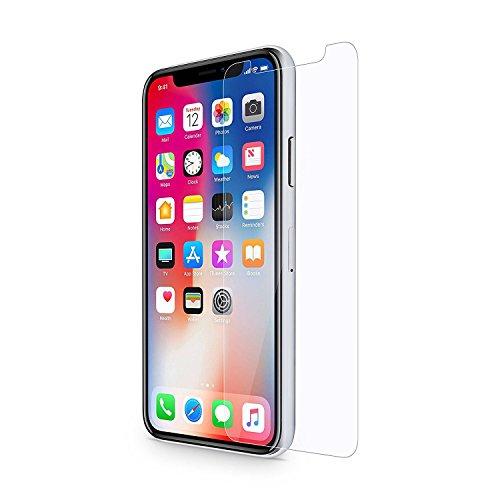 Kompatibel iPhone X Schutzfolie Panzerglas, Displayschutz für iPhone X Panzerfolie Displayschutzfolie Gehärtetem Glass 9H Härtegrad HD Display Anti-Kratzer für Apple X (Panzerglasfolie für iPhone X)