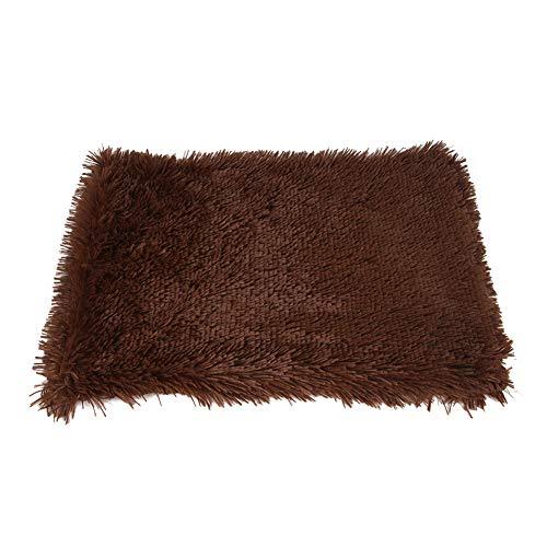 Monba Hundedecke aus Kunstfell, warme Matratze, Größe S/M/L, waschbare Matte, Welpenkissen, Sofabezug, Möbelschutz für Hunde und Katzen