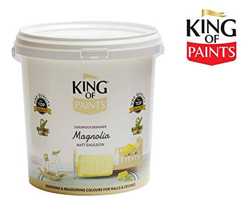 King of PaintsTM Magnolienfarbe, Emulsion, matt, 5 Liter